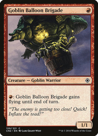 Goblin Balloon Brigade [Conspiracy: Take the Crown] | Goblets and Goblins