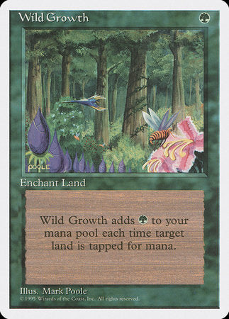 Wild Growth [Fourth Edition] | Goblets and Goblins