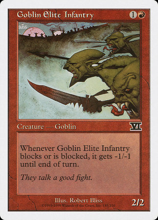 Goblin Elite Infantry [Classic Sixth Edition] | Goblets and Goblins