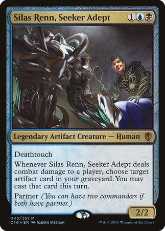 Silas Renn, Seeker Adept [Commander 2016] | Goblets and Goblins
