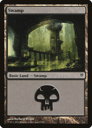 Swamp (83) [Duel Decks: Jace vs. Vraska] | Goblets and Goblins