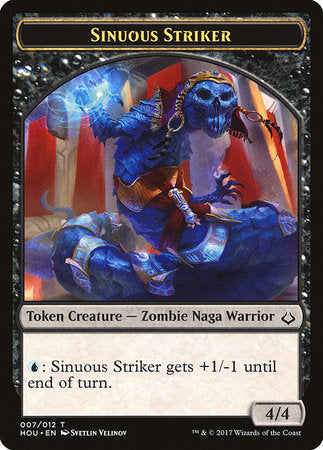 Sinuous Striker Token [Hour of Devastation Tokens] | Goblets and Goblins