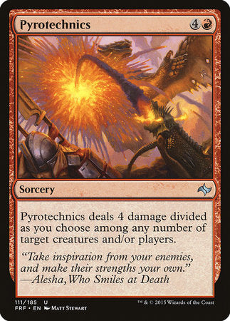 Pyrotechnics [Fate Reforged] | Goblets and Goblins