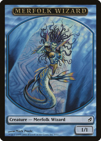 Merfolk Wizard Token [Lorwyn Tokens] | Goblets and Goblins