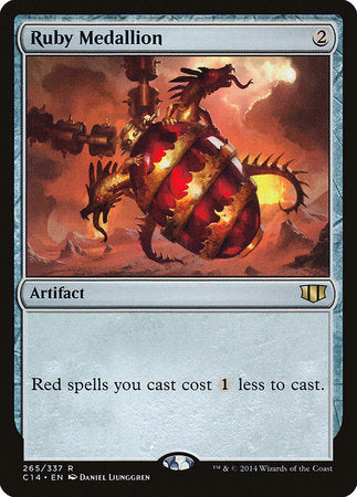 Ruby Medallion [Commander 2014] | Goblets and Goblins