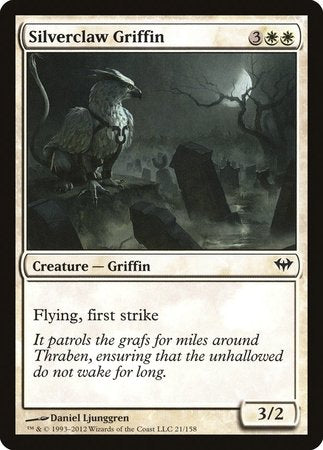 Silverclaw Griffin [Dark Ascension] | Goblets and Goblins