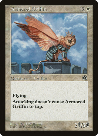 Armored Griffin [Portal Second Age] | Goblets and Goblins