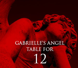 Gabrielle's Angel Table for Twelve