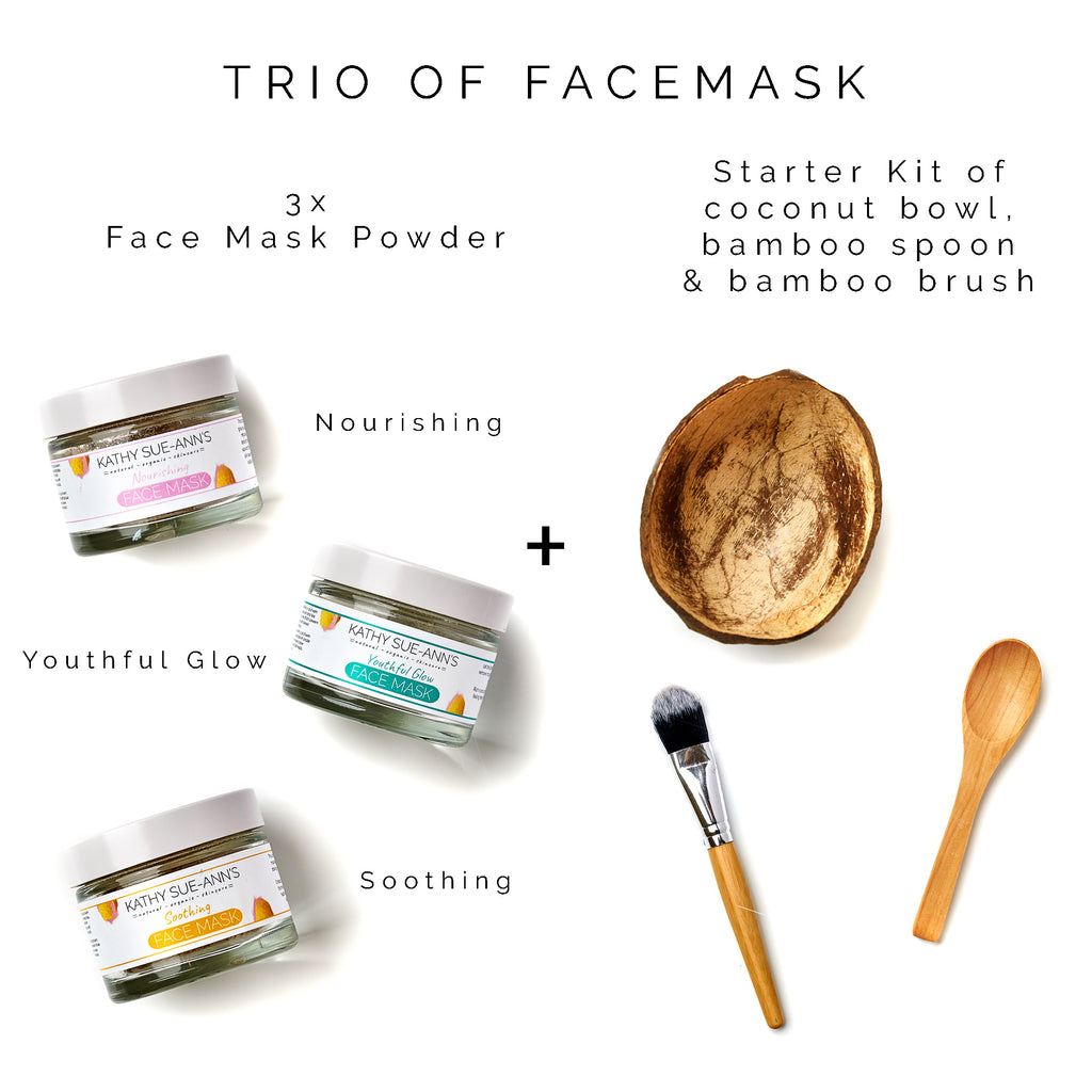 Trio of Face Mask
