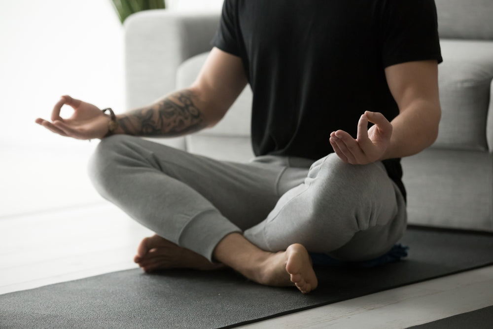 Meditation to help with anxiety before bed