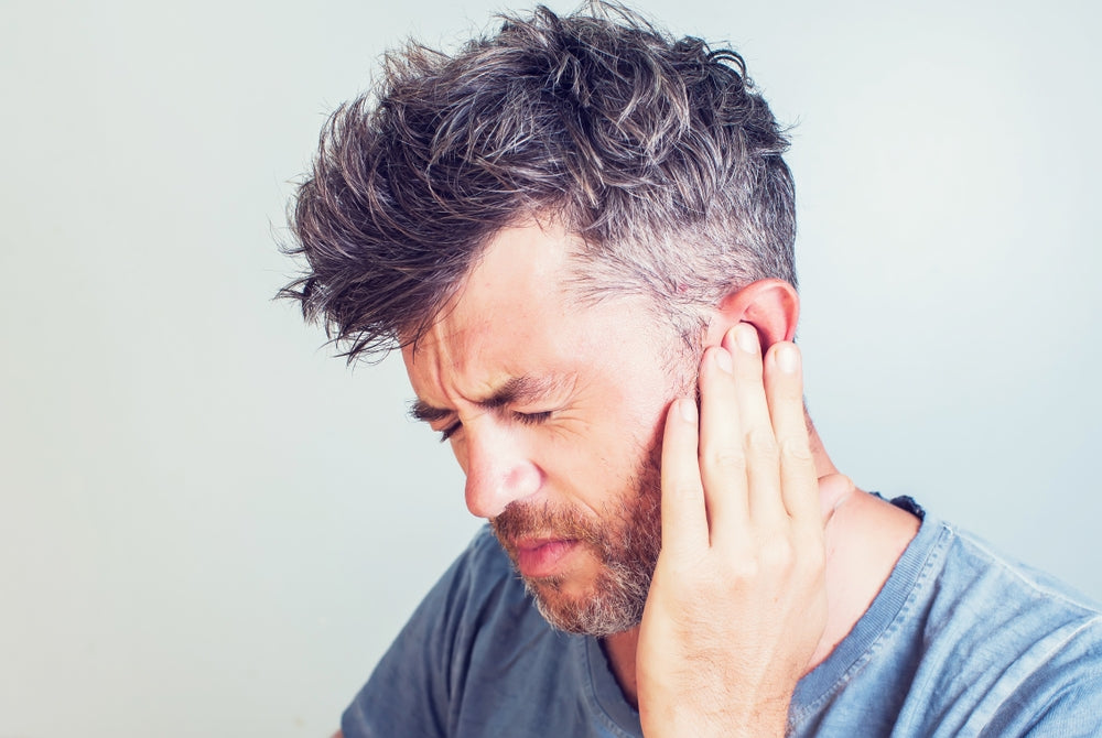 Anxiety causing ringing ears