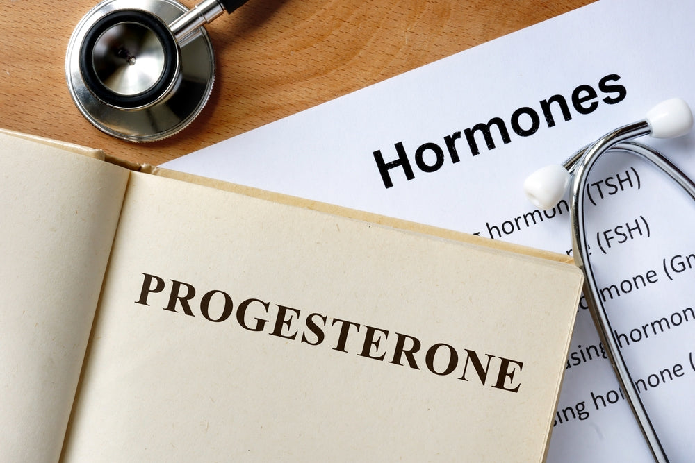 What is progesterone?