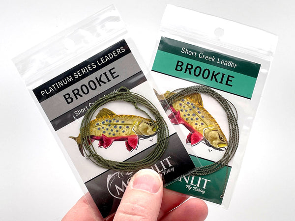 Best furled leader for fishing those super tight trout streams and rhododendron