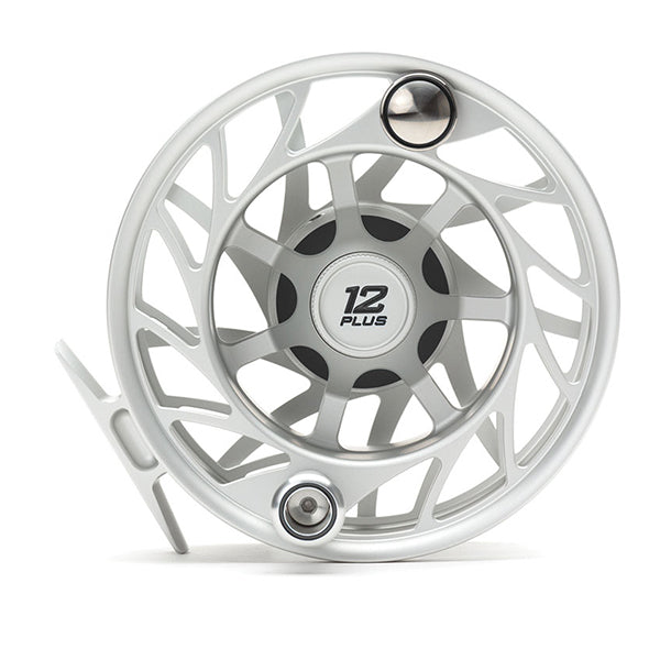 Hatch Finatic 12+ Gen 2 Reel, Clear/Black