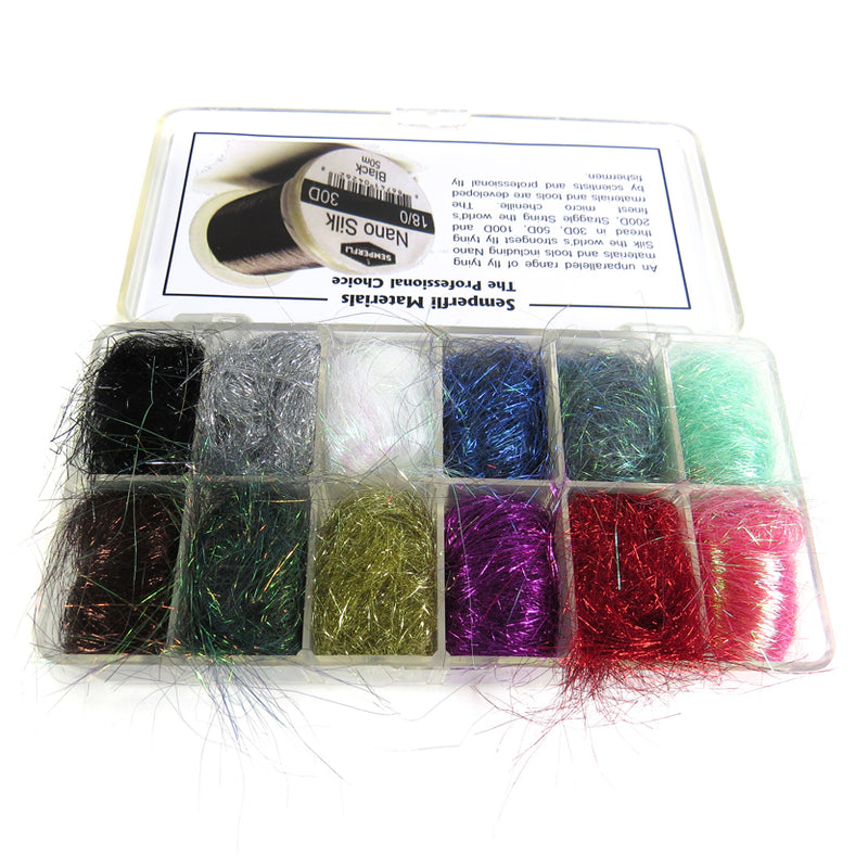 SemperFli Ice Dubbing Dispenser - 10 colors