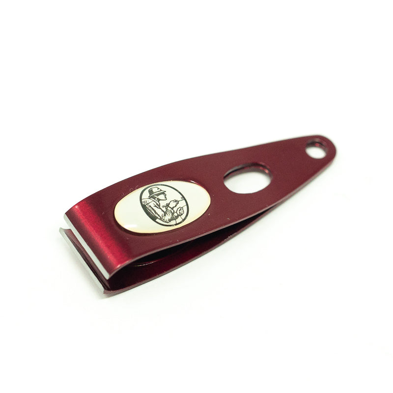 Leland Red Nipper with Magnetic Release Clip