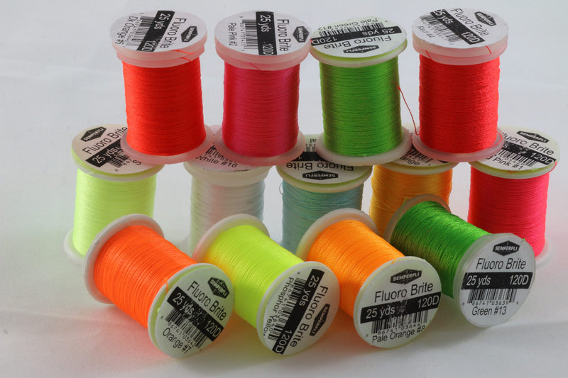 SemperFli Fluoro Brite Fluoro Tying Threads