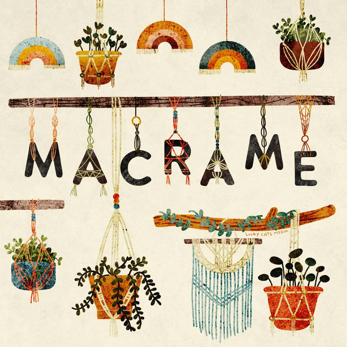 Ages 8 and up | Macrame | 6 Week Specialty Class