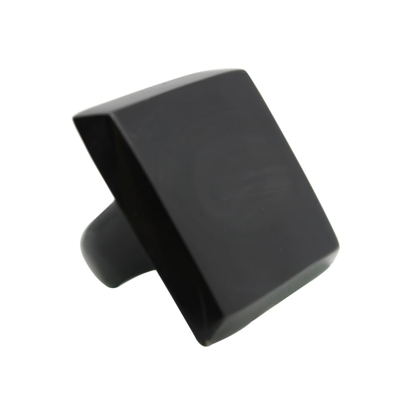 Apollo Horn Black Squared Shape Ring
