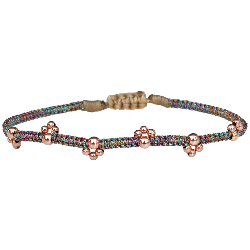 BLOOM BRACELET IN PASTEL TONES & ROSE GOLD