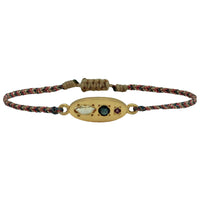 LUXURY MILA BRACELET WITH GOLD, CITRINE, SAPPHIRE AND GARNET
