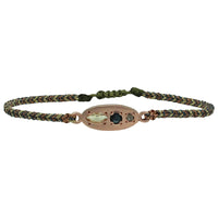 LUXURY MILA BRACELET WITH ROSE GOLD, SAPPHIRE AND DIAMOND