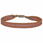 BT BRACELET IN PINK AND COPPER TONES