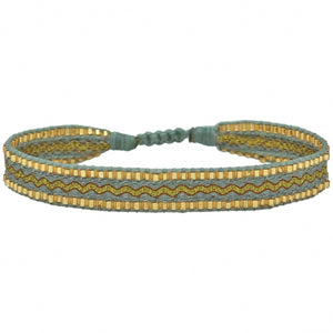 BT BRACELET IN GOLD, GREY & YELLOW