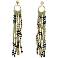 TOPO EARRINGS IN NEUTRAL TONES