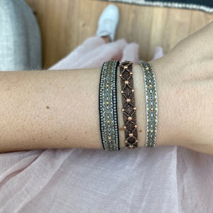 BT INTERMIXED BRACELET IN NEUTRAL TONES