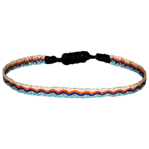 KIDS BRACELET IN BLUE & ORANGE TONES