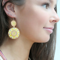 SUMMER EARRINGS IN BRIGHT COLORS