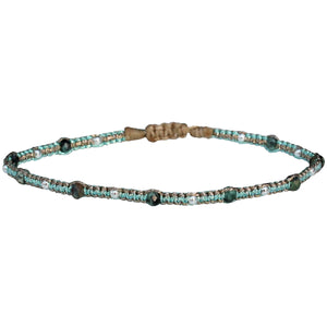 STONE SAND BRACELET IN TURQUOISE AND SILVER
