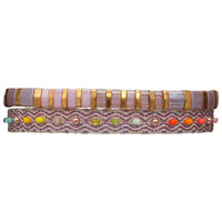 COLORFUL HANDWOVEN  BRACELET SET