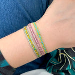 MULTICOLOR SET OF TWO BRACELETS