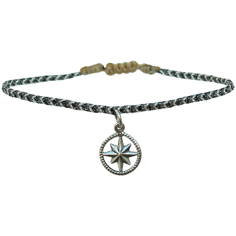 NORTHERN STAR BRACELET IN GREY TONES & SILVER