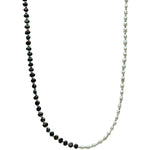 Hanauma Pearls and Silver Beads Necklace