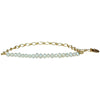 Hanauma Gold Chain and Pearls Handmade Bracelet