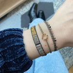 CHIC BRACELET IN NEUTRAL TONES
