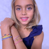 PINK & ROSE GOLD KIDS BRACELET