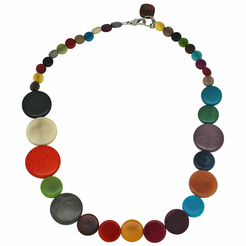 Multicolour Vegetable Ivory Necklace
