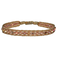 COLORMIX HANDWOVEN BRACELET IN NEUTRAL TONES