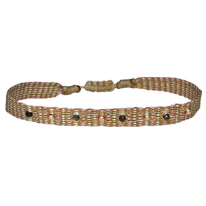 INTERMIXED STONES BRACELET IN NEUTRAL TONES