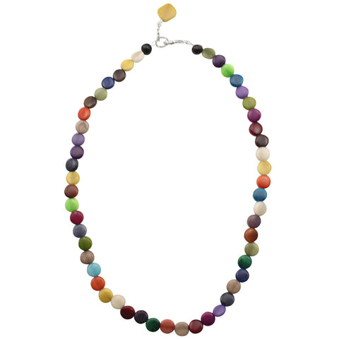 Multicolor Statement Strand Necklace