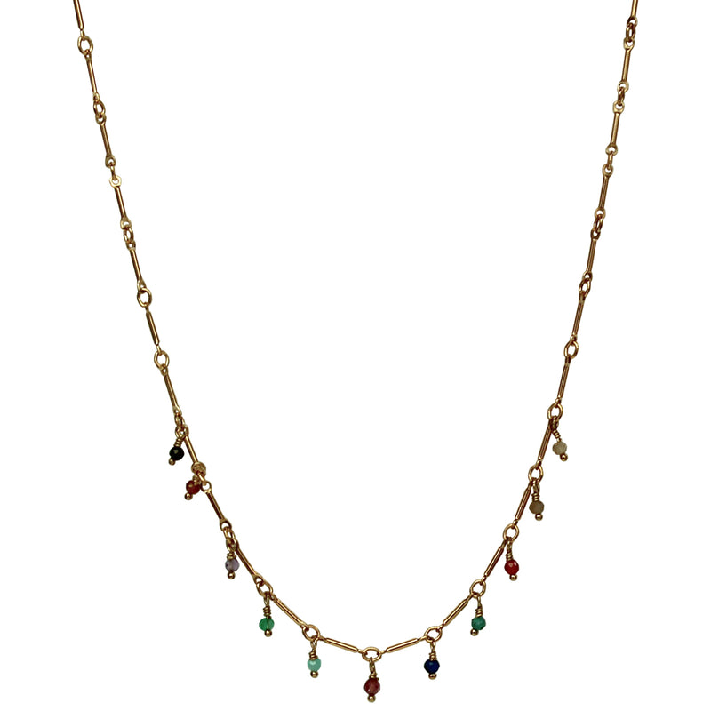 JAZMIN NECKLACE IN GOLD