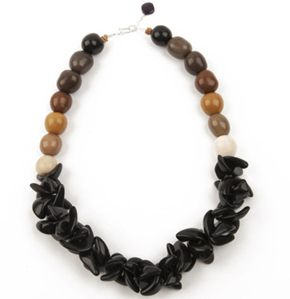 Vegetable Ivory Statement Necklace