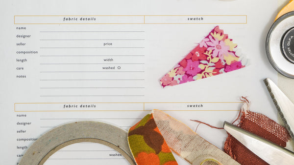 fabric swatch book free pdf template charlottekan