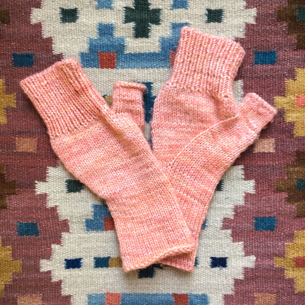 fingerless mittens knit purl soho arched mittens