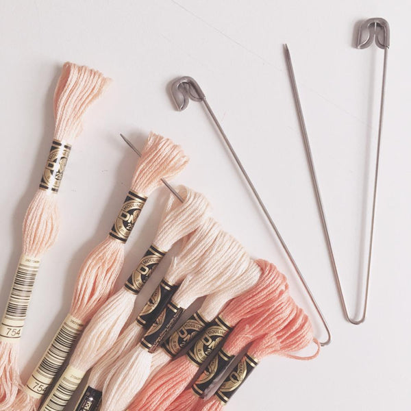 how to organize and store embroidery floss