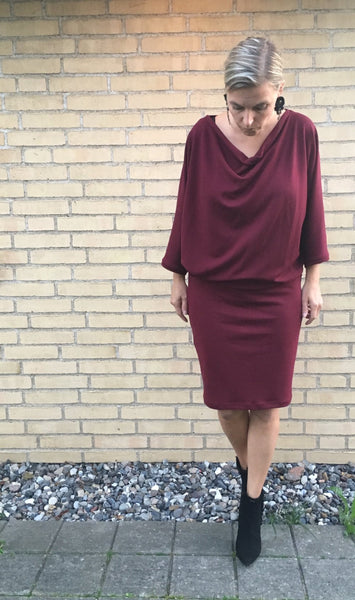 Elskan dress pdf sewing pattern